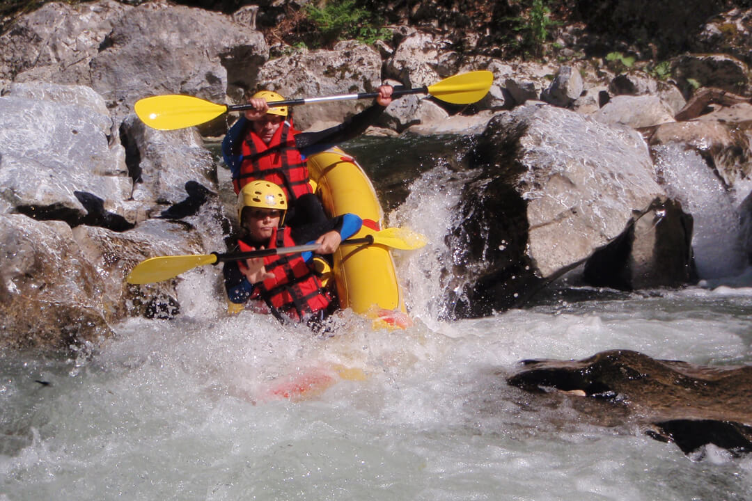 Cserna rafting